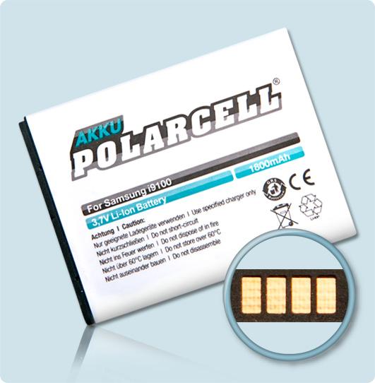 PolarCell-Akku-Samsung-GT-i9100-Galaxy-S2-II-EB-F1A2GBU-Accu-Batterie-Battery