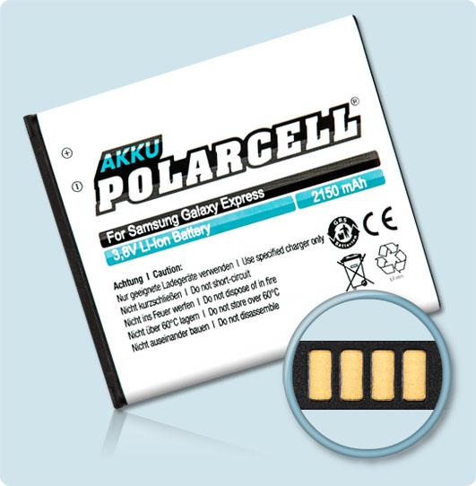 polarcell nfc akku samsung galaxy express lte gt i8730t eb. Black Bedroom Furniture Sets. Home Design Ideas